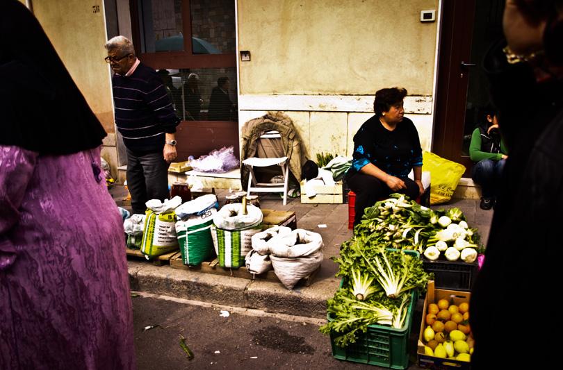 Un giorno al mercato di Vibo Valentia