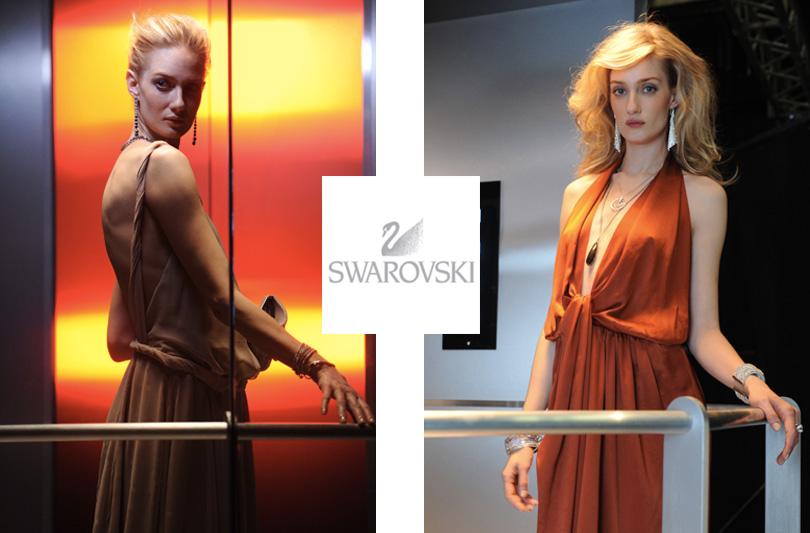 Eva Riccobono: nuovo volto della campagna Tv Swarovski per l'Italia