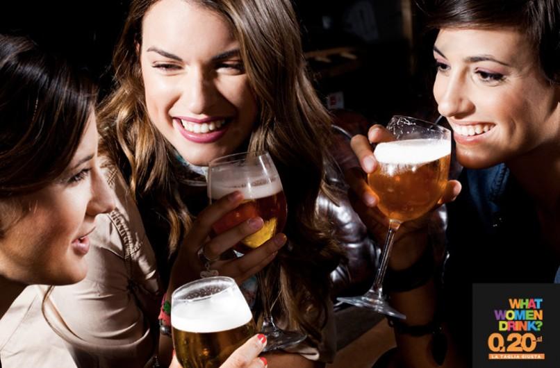 What women drink? Le donne preferiscono la birra