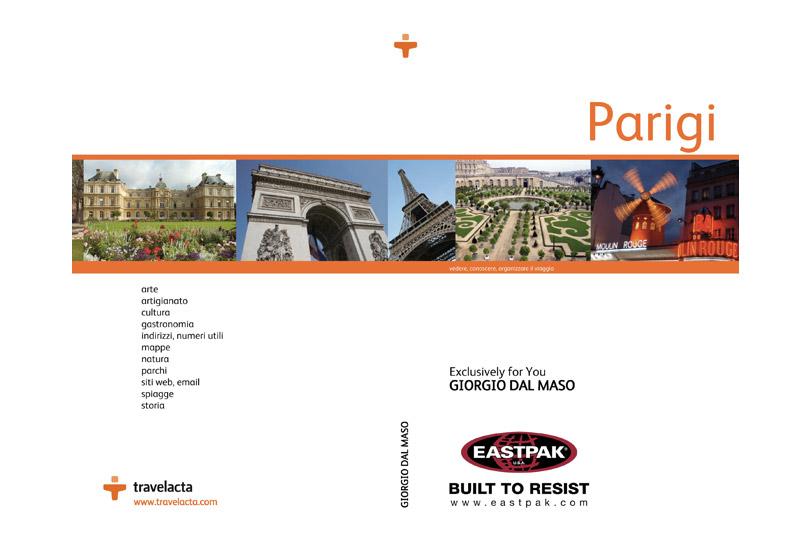 Eastpak dà vita alle prime travel guide personalizzate