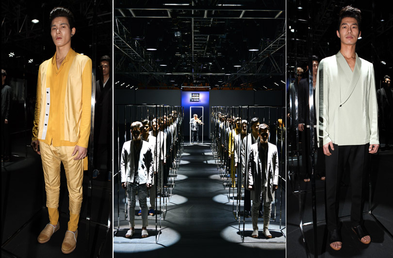 La moda maschile trionfa all'ultima Seoul Fashion Week