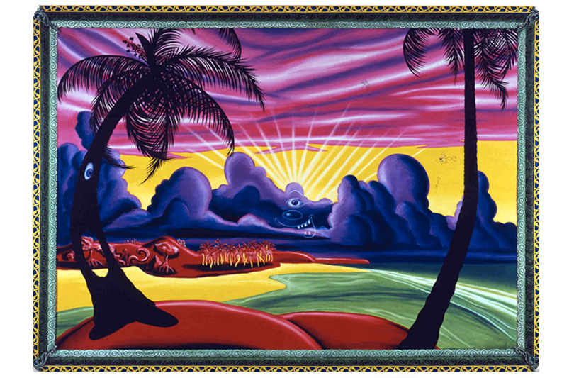 La pop art di Kenny Scharf finisce su creme e profumi Kiehl's