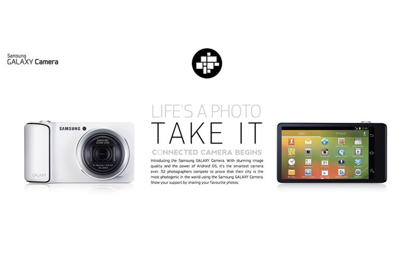 Samsung Galaxy Camera presenta LIFE'S A PHOTO