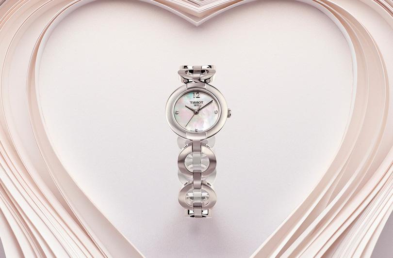 A San Valentino vinci Pinky Diamonds, il nuovo orologio di Tissot