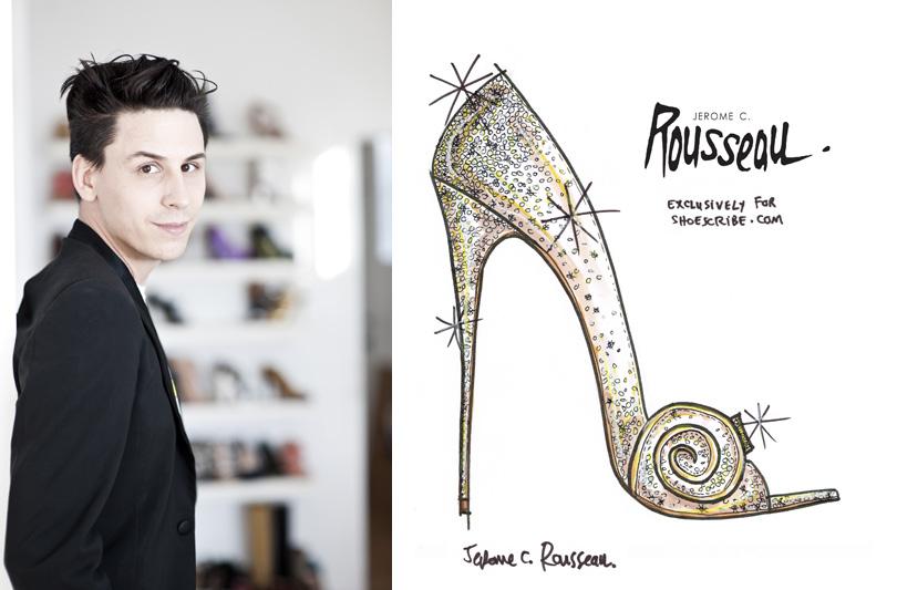Jerome C. Rousseau realizza una scarpa ispirata al film Disney: Il grande e potente Oz.