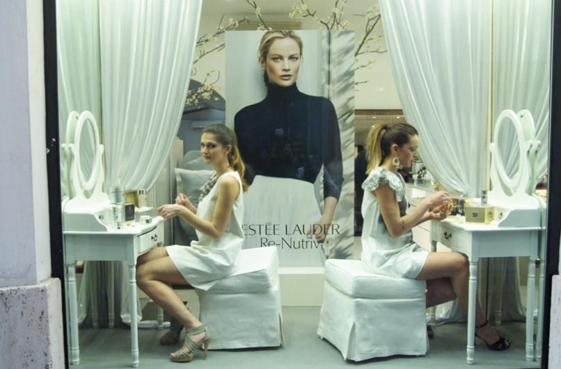 Estée Lauder & Profumeria HB: a Via del Babuino il cocktail ti fa bella