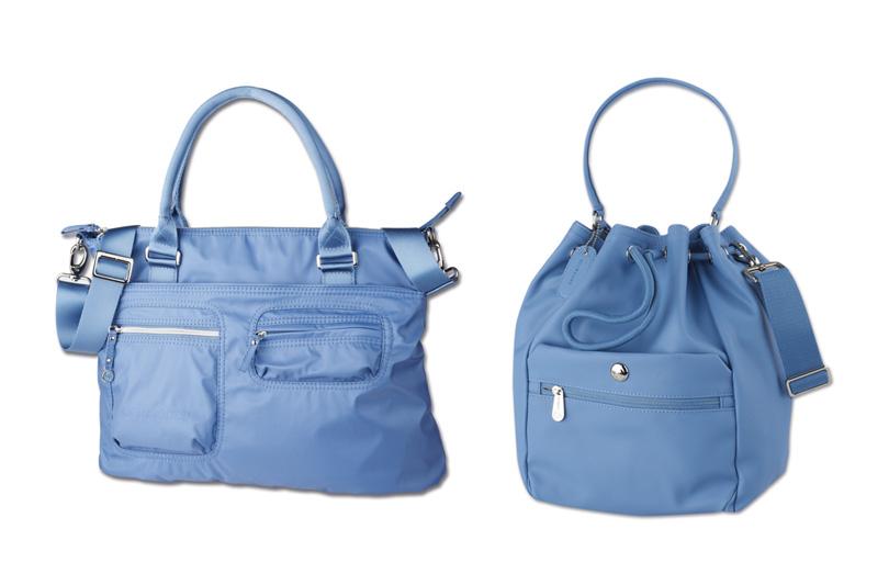 Blue  Ashes: la nuova nuance proposta da Samsonite per la linea Lady Handbags