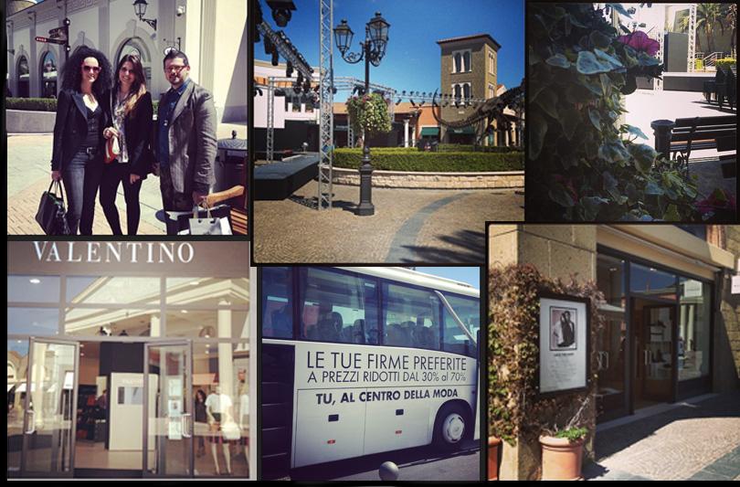 Fashion in Town Vi racconta il Grand Opening al Designer Outlet Castel Romano dell'11 Aprile