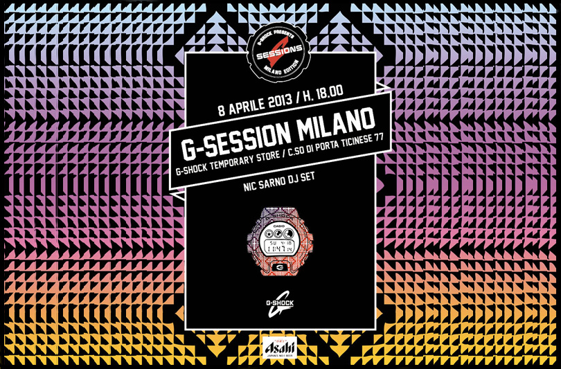 G-Shock presenta: G-Session Milano