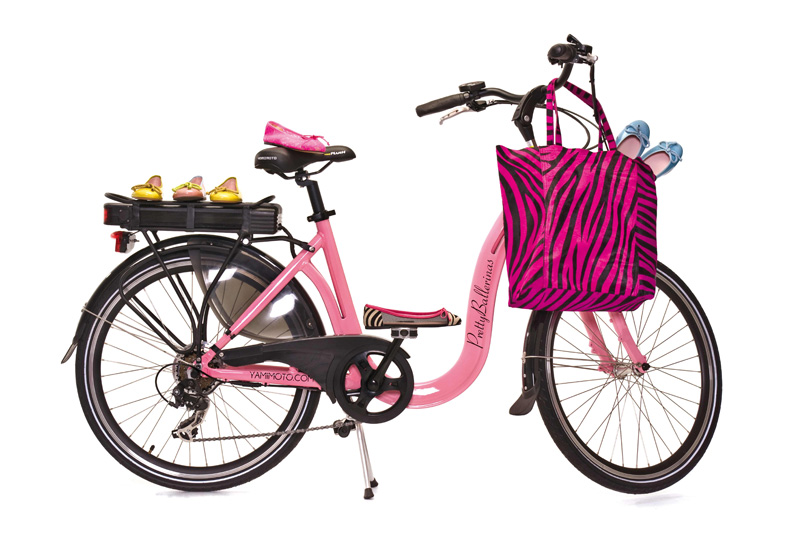 Stile retrò per la PrettyBallerinas Electric Bike by Yamimoto - Limited Edition
