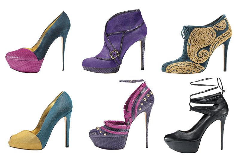 Per tutte le amanti della moda anni ottanta arriva la collezione A/I 2013 di Gaetano Perrone