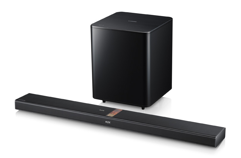 Samsung HW-F750: la prima Speaker Bar al mondo che si collega al TV tramite Bluetooth
