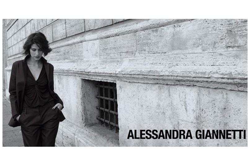 Alessandra Giannetti presenta l'A/I 2013-2014 con una testimonial d'eccezione: Giulia Bevilacqua