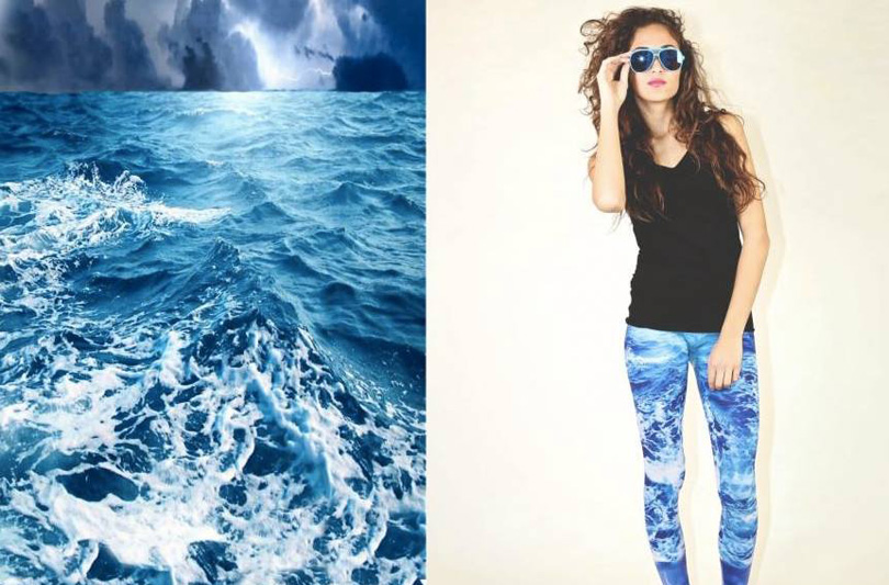 "Cristel Carrisi lancia ""Lost in Space, la collezione colorata e ironica di leggins"