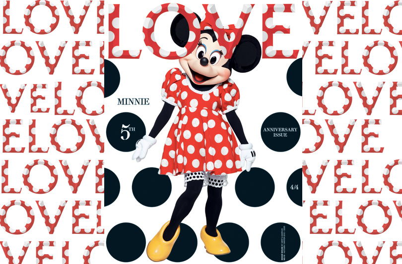 MINNIE MOUSE COVER GIRL PER LOVE