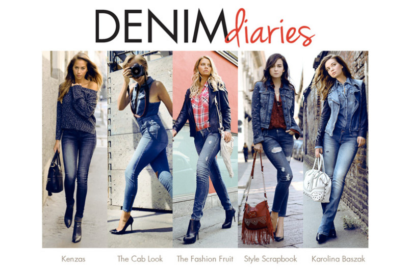 Guess collabora con 5 top fashion bloggers per promuovere la collezione denim A/I 2013-2014