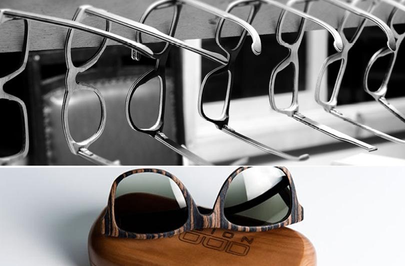 Alla Barcaccia gli abiti di Laura Froio e gli occhiali Vision Wood