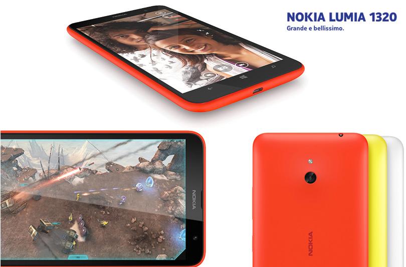 Nokia Lumia 1320: il regalo giusto per San Valentino
