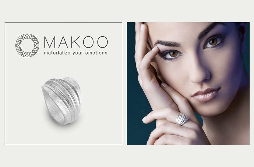 Makoo: il gioiello plasmato dall'input vocale