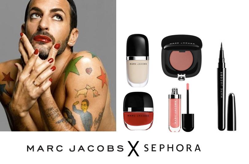 Marc Jacobs lancia la sua prima linea di cosmetici, Marc Jacobs Beauty!