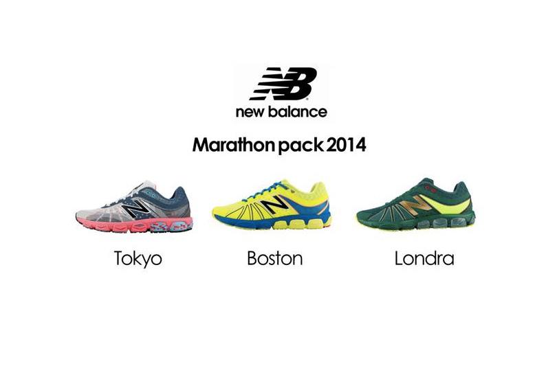 New Balance presenta il Marathon Pack dedicato agli eventi running di Tokyo, Londra e Boston