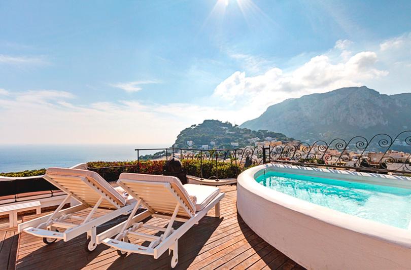 Riapre a Capri la Spa del Tiberio Palace