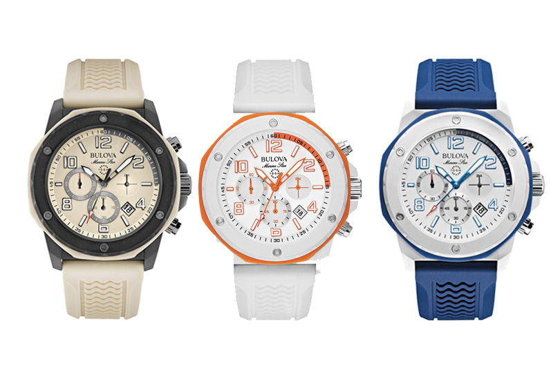"""Bulova presenta i nuovi orologi subacquei della collezione """"Marine Star"""""""