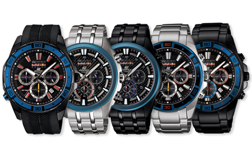 Edifice ed Infiniti Red Bull Racing corrono insieme...