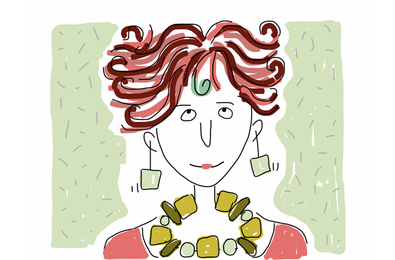 I colori di Gloria Rovere incontrano i colori di Federico Faragalli. Ed è magia