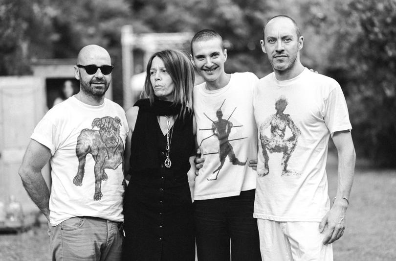 Rosalinda Celentano per Foundation Art T-Shirt. E ad AltaRoma il pubblico si incanta