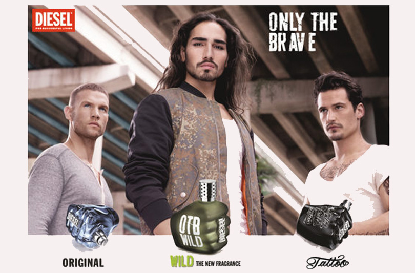 "Diesel lancia ""Only The Brave Wild"", il suo ultimo profumo maschile"