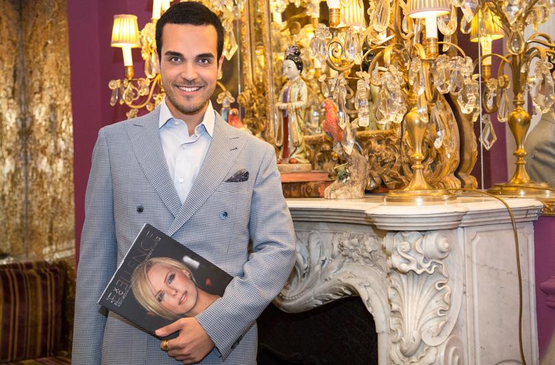 """Edoardo Alaimo firma una sua rubrica di lusso su """"The Excellence"""" magazine"""