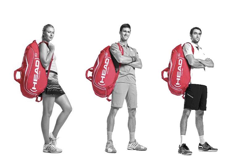 Una borsa rossa in spalla: la lotta contro l'AIDS si combatte anche agli US Open