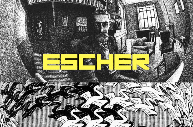 Escher al Chiostro del Bramante