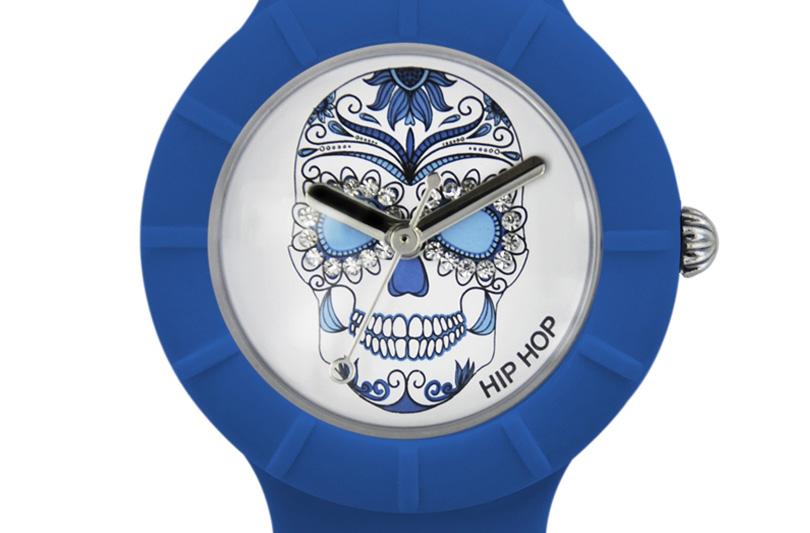 I nuovi orologi Hip Hop: è skull mania!
