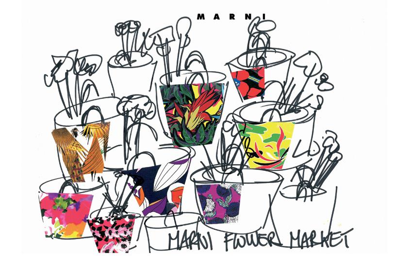 Alla Milano Fashion Week oggi è il giorno del Marni Flower Market