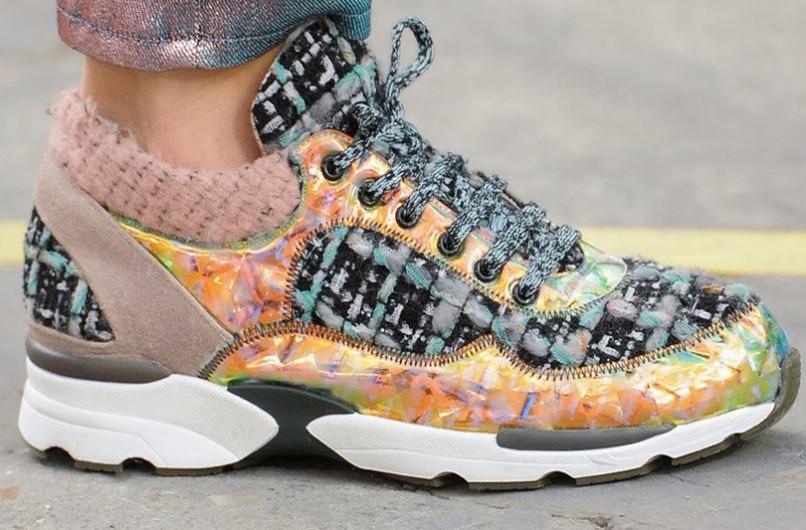 Sneakers-pvc-Chanel