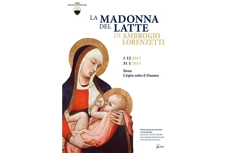 La Madonna del Latte di Lorenzetti. Un capolavoro che ammalia da secoli.