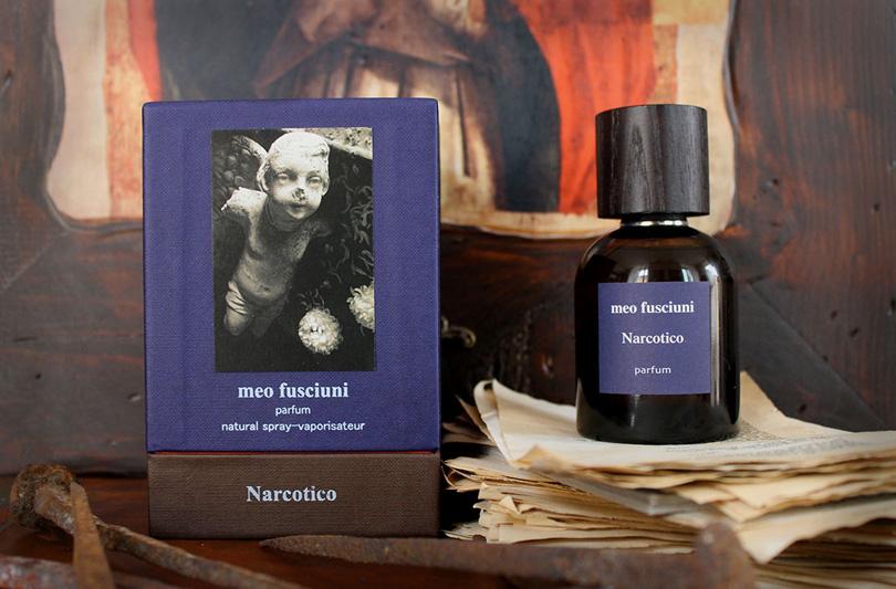 Inizia con Narcotico il nuovo ciclo olfattivo di Meo Fusciuni