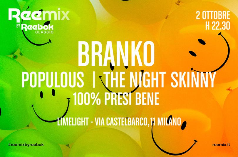 Reebok Classic & Vice presentano Reemix Party
