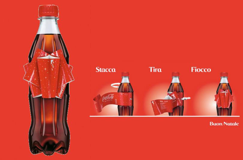 Coca-Cola si infiocchetta per le feste di Natale