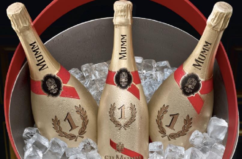 Mumm lancia lo champagne F1 Gold Edition