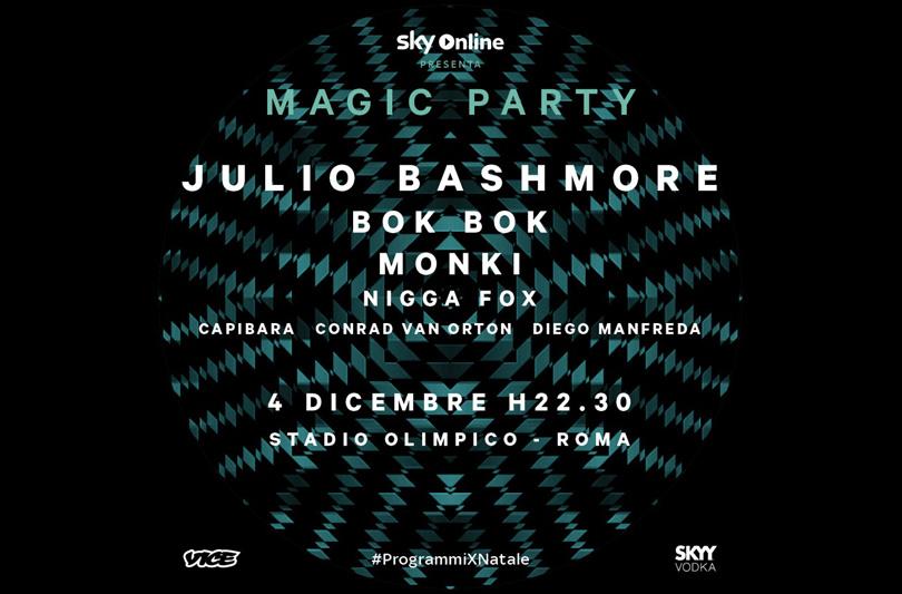 Sky Online & Vice presentano a Roma Magic Party