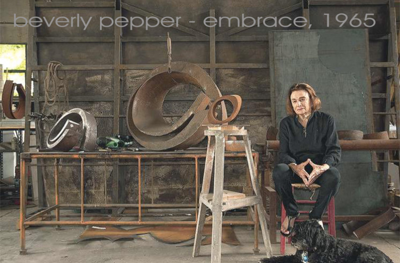 A Todi la mostra di Beverly Pepper