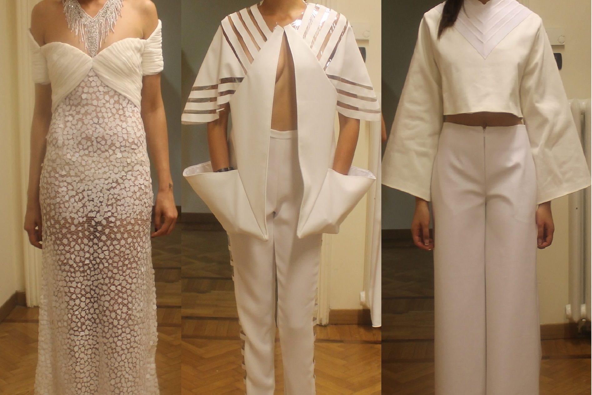 Ad AltaRoma sfila il bianco dell'Accademia Altieri Moda
