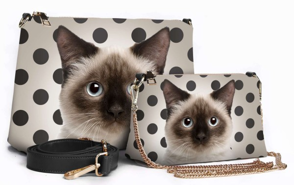 manie bag cats & pois