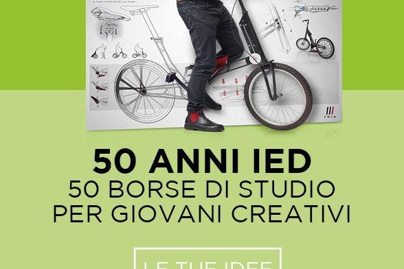 IED festeggia i 50 anni con 50 borse di studio