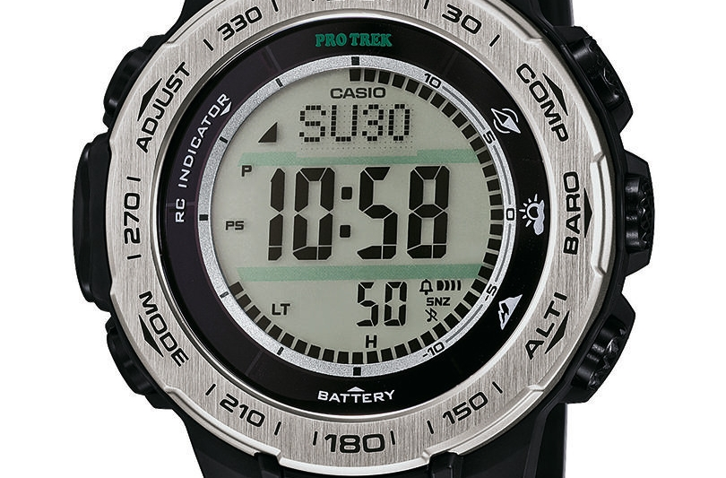 Casio e Mountain Affair: orologi hi-tech per l'outdoor