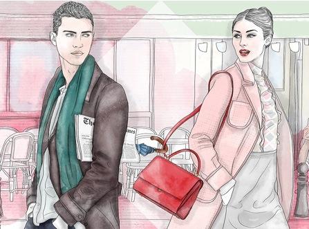 Fortuna Todisco illustra il San Valentino  di Serapian