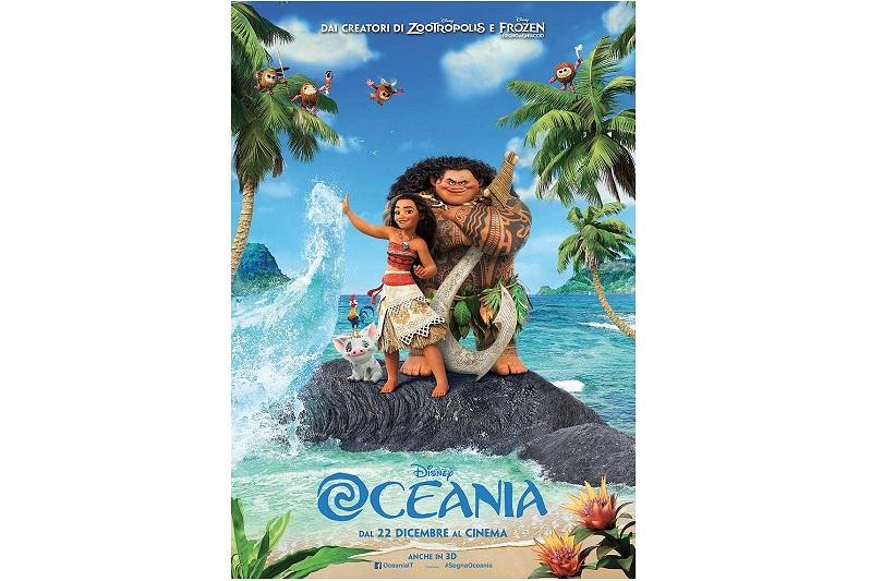 Oceania: il 56° Classico Disney